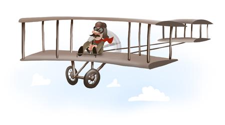 man eerste vliegtuig rijden, wright broers vliegtuig