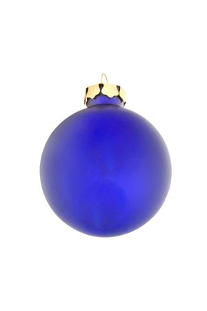 Christmas ornament on a white background.