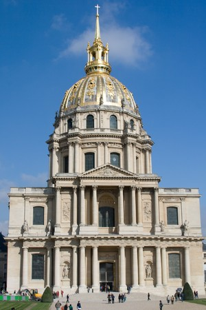 Built as a hospital and a retirement home for war veterans. Tomb of Napoleon Bonaparte