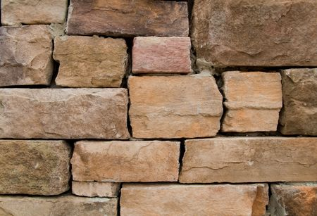 stenen muur op een wijn makerij horizontale weergave  Stockfoto