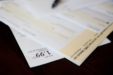 Debt consolidation and balance transfer cheques photo