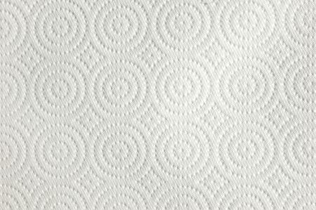 Background Texture of a Paper Towel with Circles and Diamonds Stock Photo