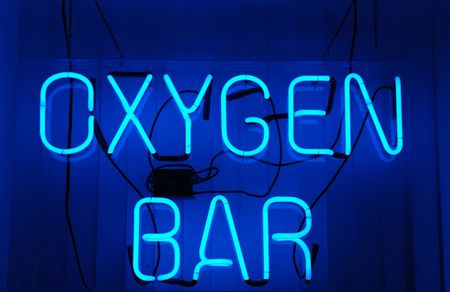 Oxygen Bar neon sign