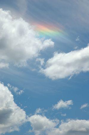Sundog in the sky photo
