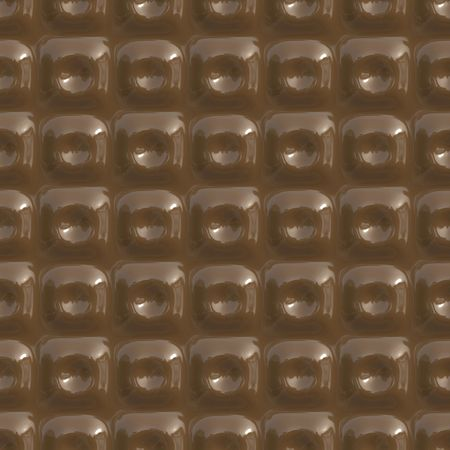 Seamless background made from milk chocolate squares photo
