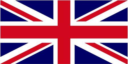 英国の旗 (ないベクトル) の図
