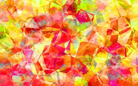 Abstract of a burst of spring or summer colors suitable for a background
