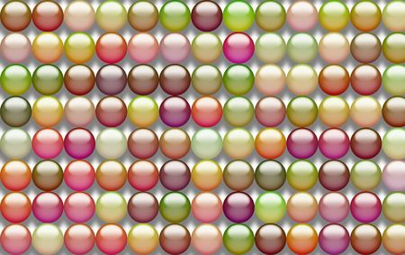 Abstract of gel buttons suitable for a background Stock Photo - 969894