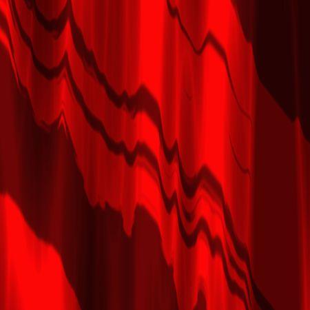 背景やテクスチャとして使用に適した赤いサテンのカーテンのイラスト 写真素材