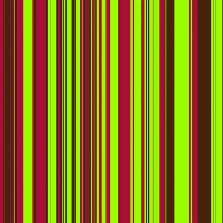 Striped pattern in neon green, burgundy, and brown for use as a background 스톡 콘텐츠