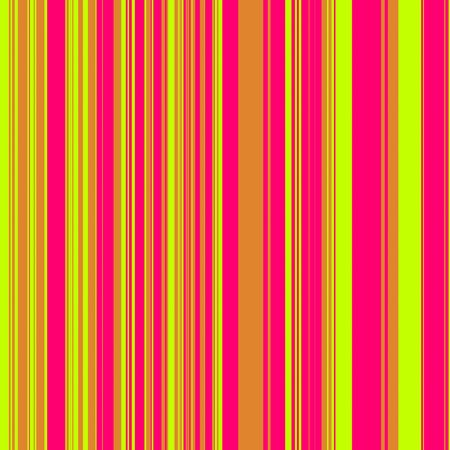 Striped pattern in psychadelic green, orange, and pink for use as a background