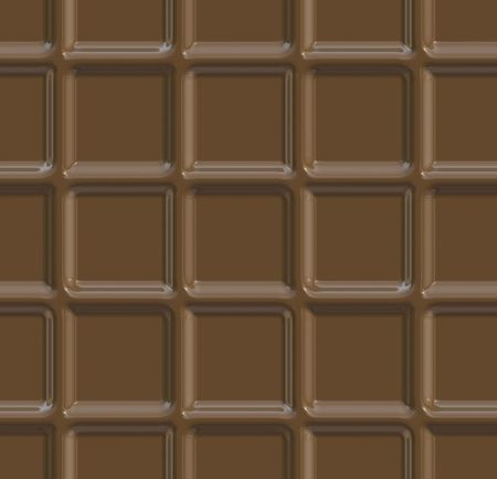 Seamless background of solid milk chocolate squares photo