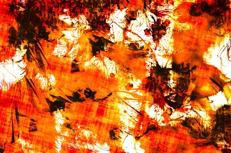 splattered: Abstract of grungy splattered paint