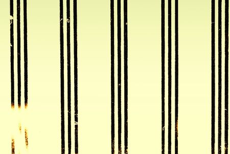 deteriorate: Vintage milk glass with stripes background stylized with grunge effects