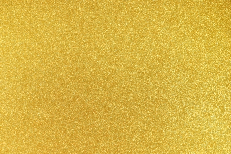 Background filled with shiny gold glitter Stock Photo