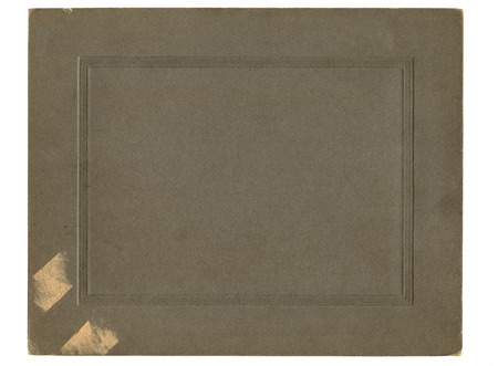 rips: Antique paper photograph cover background