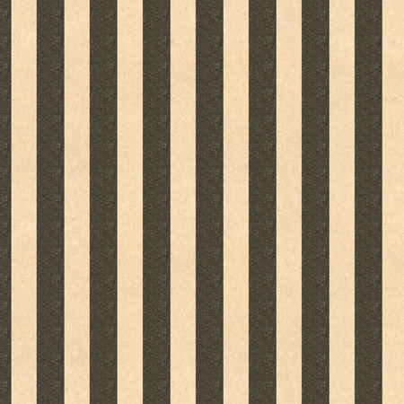 screen print: Black and tan striped vintage paper for backgrounds Stock Photo
