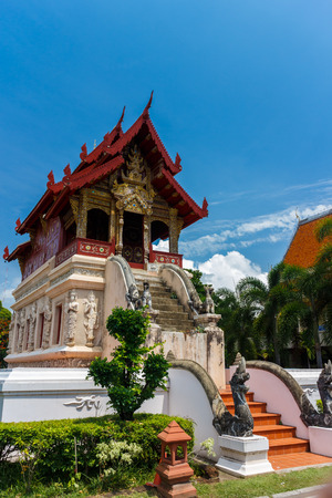 histories: Wat Pra Sing,the histories temple in Chiang Mai Thailand