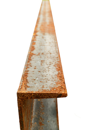 isolation: rust at steel, industry material isolation photo stock Stock Photo