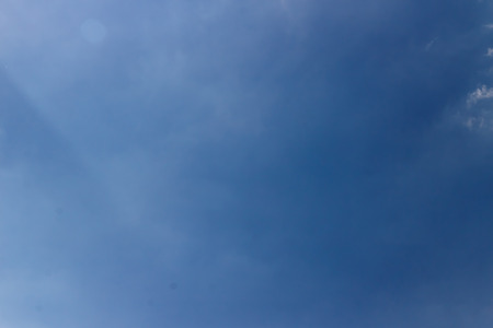 blue sky and white cloud, natural for background Stock fotó