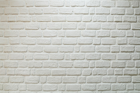 close up white brick wall for wallpaper background