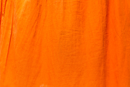close up detail of orange fabric for background Stock fotó