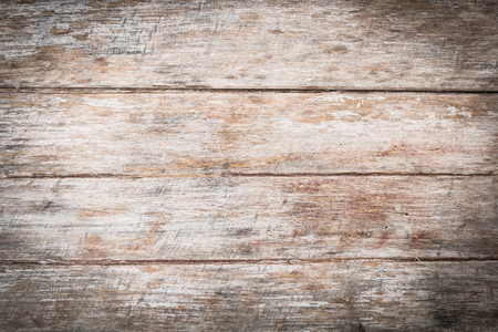close up detail of old wooden table for natural background