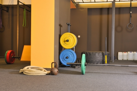 Functional - Fitness and CrossFit in a gym