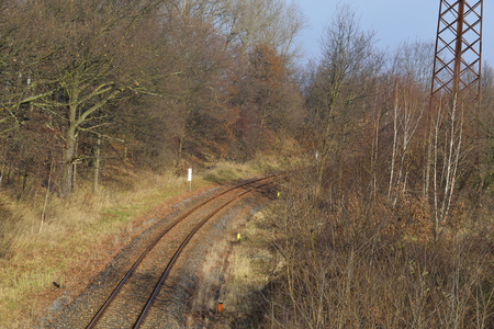 railtrack: A piece of Railtrack.