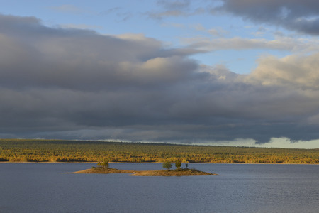 Ã-ver-Särvsjön at Messlinge in Sweden
