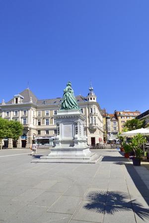 Klagenfurt, Austria in summer