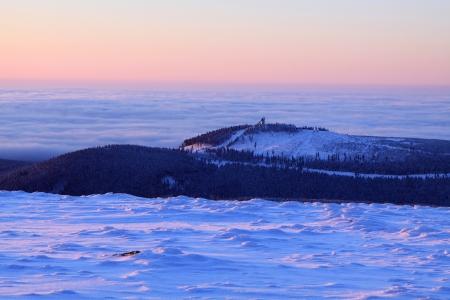 brocken: Brocken peak Stock Photo