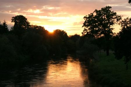 bode: Bode river Stock Photo