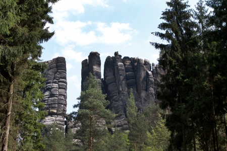 saxon: Rocks in the Saxon Switzerland