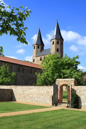 ecclesiastical: Monastery Druebeck Stock Photo