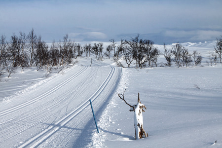 Ski Resort Hovden in Norway photo