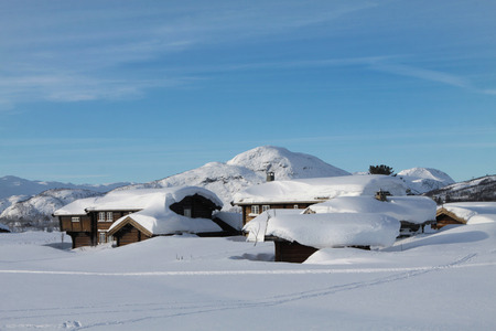 Hovden in winter photo