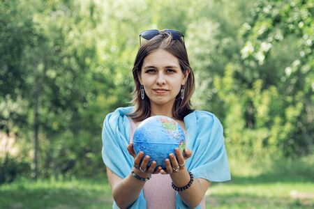 The planet is in the hands of people. Save our planet