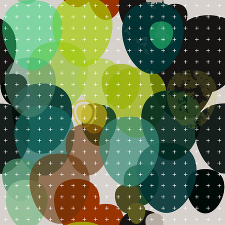crosses: Decorative abstract pattern background with crosses.