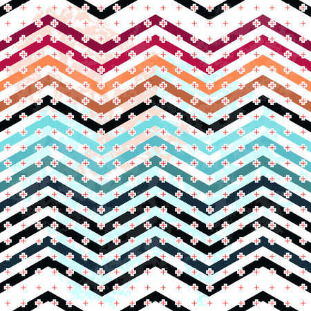 erection: Seamless background pattern with wavy form. Illustration