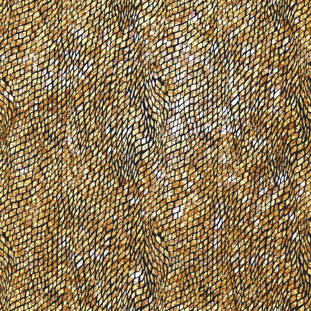 specular: Doodle Dash line Gold pattern.Shining black background with strokes and gold glitter. Fashion trendy wallpaper. Golden shiny texture. Modern painted card. Specular Boho chic texture.