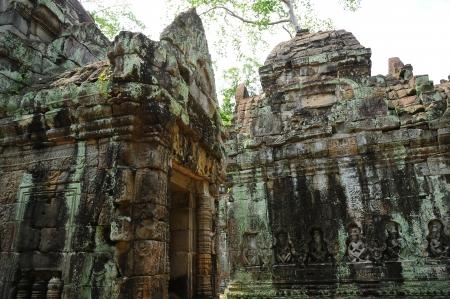 Temple of Angkor Thom, Cambodia