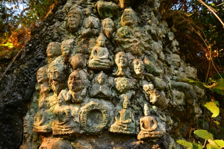 Buddha Head Statues photo