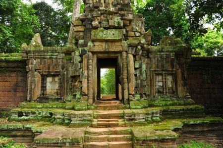 Ruin of Temple in Angkor Thom, Cambodia