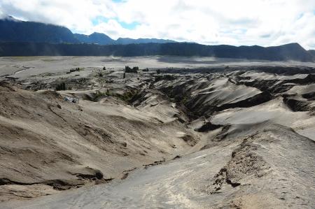 Black Deserts of Volcano