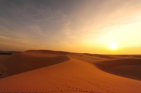 Sand Dunes in Deserts photo