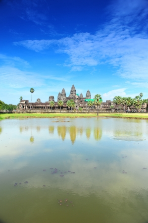 Famous View Point of Angkor Wat Temple