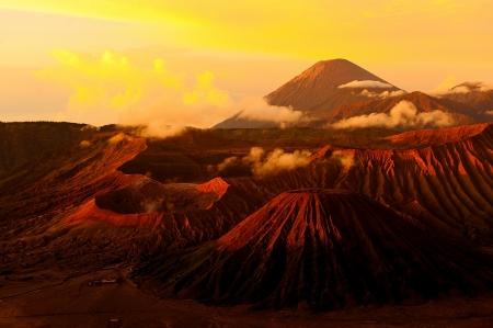Mount Bromo Volcano, Indonesia Stock Photo