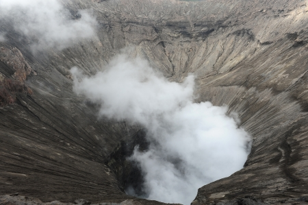 The Crater of Volcano photo