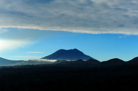 underprivileged: View Point of Kawah Ijen Volcano, Indonesia